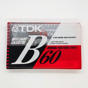 B 60 / TDK(ノーマル)