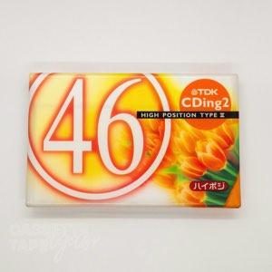 CDingII 46 / TDK(ハイポジ)