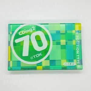 CDingII 70 / TDK(ハイポジ)