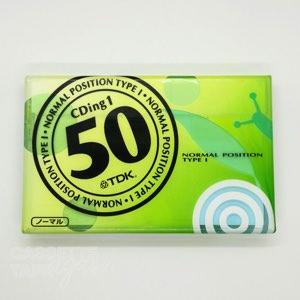 CDingI 50 / TDK(ノーマル)