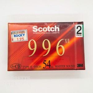 996X-II 54 / Scotch(ハイポジ)