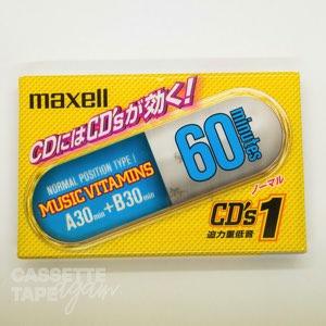 CD's 1 60 / maxell(ノーマル)