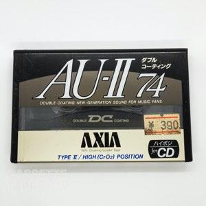AU 2 74 / AXIA/FUJI(ハイポジ)