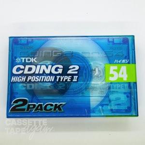 CDingII 54 / TDK(ハイポジ)