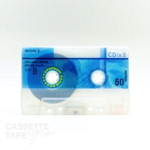 CDixII 60 / SONY(ハイポジ)