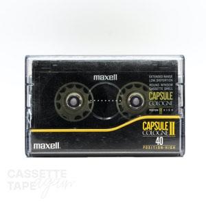 CD CAPSULE II 40 / maxell(ハイポジ)