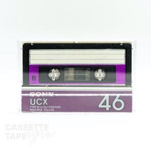 UCX 46 / SONY(ハイポジ)