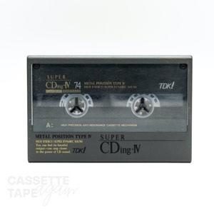Super CDing-Ⅳ 74 / TDK(メタル)