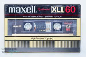 XLⅡ 60(ハイポジ,XLⅡ) / maxell