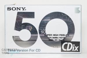 CDix 50(ノーマル,CDix 50) / SONY