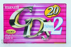 CD's 2 20(ハイポジ,CDS2-20) / maxell