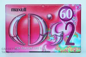 CD's 2 60(ハイポジ,CDS2-60) / maxell
