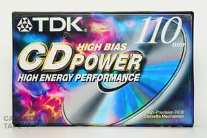 CD POWER 110(ハイポジ,CD POWER 110) / TDK