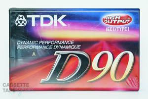 D 90(ノーマル,D 90) / TDK
