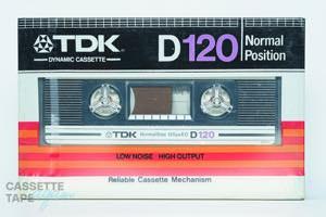 D 120(ノーマル,D 120) / TDK