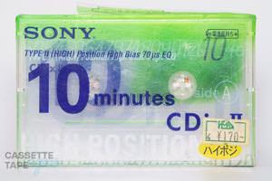 CDixII 10(ハイポジ,CDixII 10) / SONY