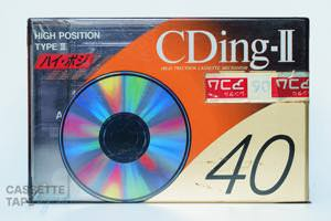 CDingII 40(ハイポジ,CD2-40A) / TDK