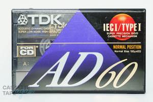 AD 60(ノーマル,AD 60) / TDK