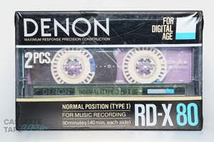 RD-X 80(ノーマル,RD-X 80) / DENON