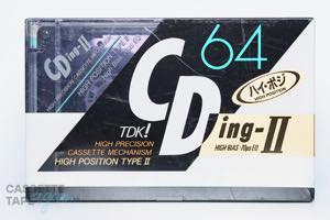 CDingII 64(ハイポジ,CDING2-64) / TDK