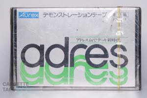 DEMONSTRATION TAPE DEMONSTRATION TAPE(デモンストレーションテープ,adres DEMONSTRATION TAPE) / AUREX