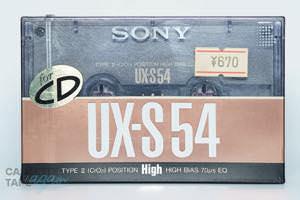 UX-S 54(ハイポジ,UX-S 54) / SONY