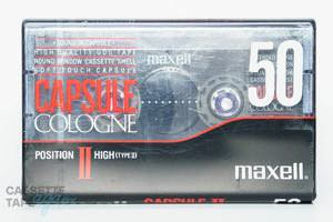CAPSULE COLOGNE Ⅱ  50(ハイポジ,CAPSULE COLOGNE Ⅱ 50) / maxell