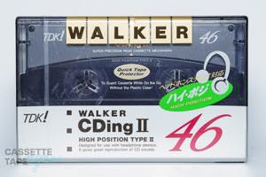 WALKER CDingⅡ 46(ハイポジ,WCD2-46) / TDK