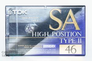 SA 46(ハイポジ,SA-46R) / TDK