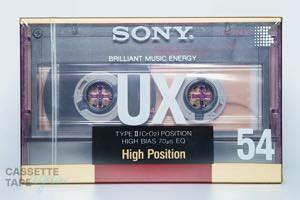 UX 54(ハイポジ,UX 54) / SONY