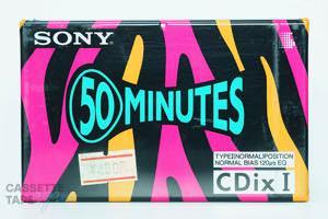 CDixI 50(ノーマル,CDixⅠ 50) / SONY