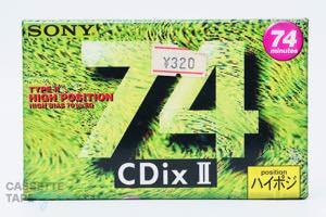 CDixII 74(ハイポジ,CDixⅡ 74) / SONY