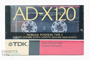 AD-X 120(ノーマル,AD-X 120K) / TDK