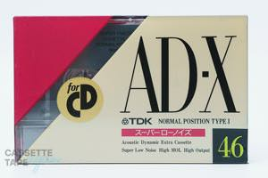 AD-X 46(ノーマル,AD-X46M) / TDK