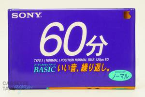 BASIC 60(ノーマル,BASIC 60) / SONY