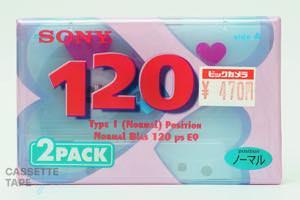 CDixII 120(ノーマル,CDixⅠ 120) / SONY