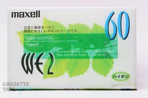 WE2 60(ハイポジ,WE2 60) / maxell